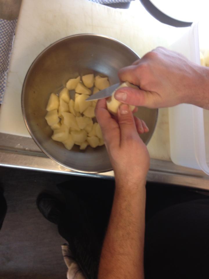 Caldereta de bogavante - Tiempo para cocer patatas ...