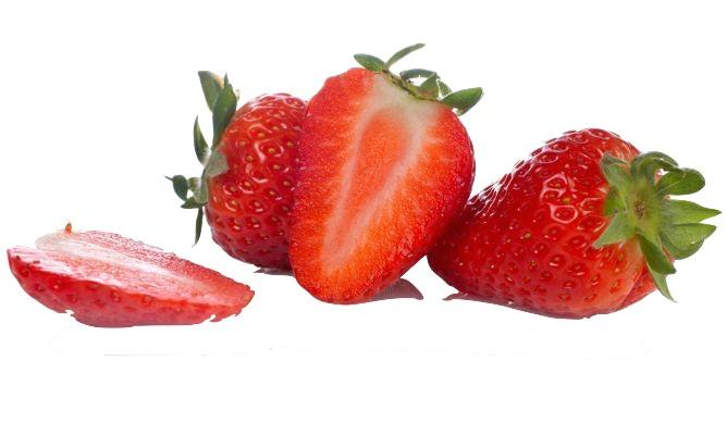 Bizcocho r pido de fresas naturales pilpileando - Postres con fresas naturales ...