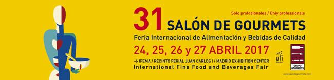 ACTIVIDADES DEL 31 SALÓN DE GOURMETS 2017